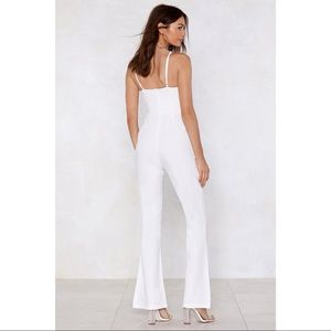 Nasty Gal Pants & Jumpsuits - Nasty Gal Studio Talithia Embroidered Jumpsuit